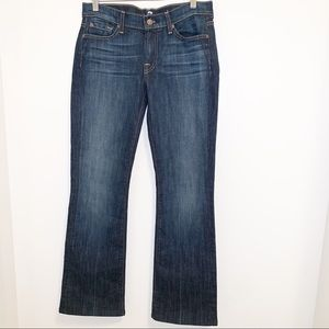 {NWOT} 7 For All Mankind Dark Bootcut Jeans -28